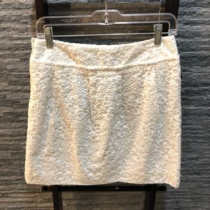 LOFT Skirts - NWT Loft Eyelet Mini Skirt